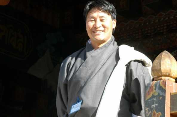 Palden Lama, your guide in Bhutan