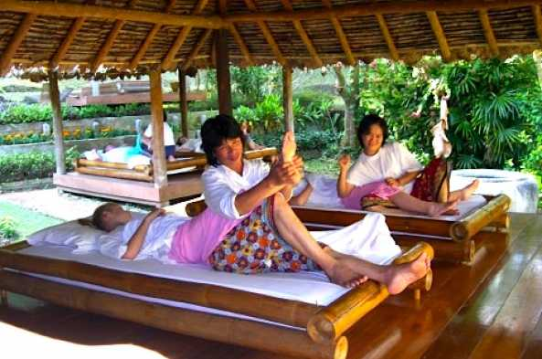 Enjoy an authentic Thai massage