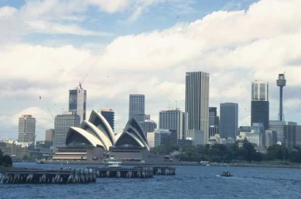Sydney's beautiful harbor