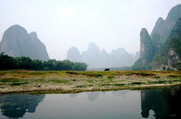 Karst formations of Yangshuo