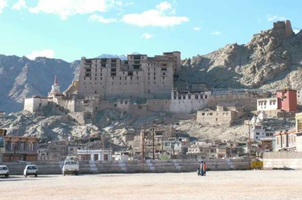 Visit the ruins of the Royal Palace in Leh