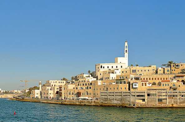 The port of Jaffa was established over three thousand years ago.