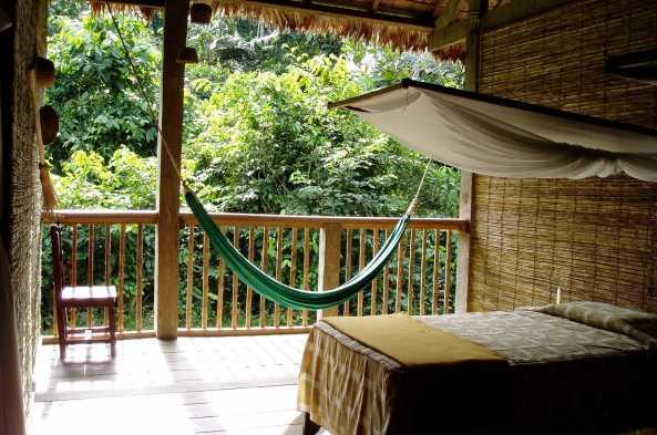 Relax and enjoy Refugio Amazonas