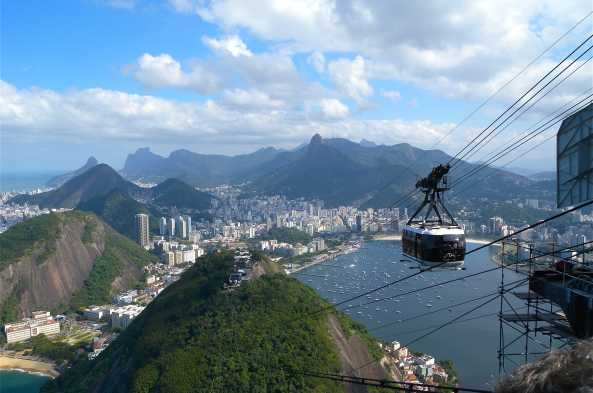 Take in magnificent city views from Sugar Loaf