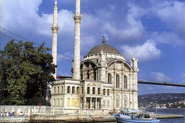 View of Ortakoy Mosque