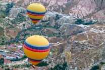 Time permitting, consider an optional balloon ride over Cappadocia